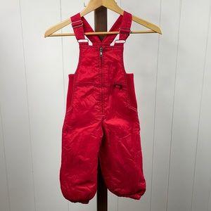 Inside Edge Red Adjustable Toddler Snow Bib